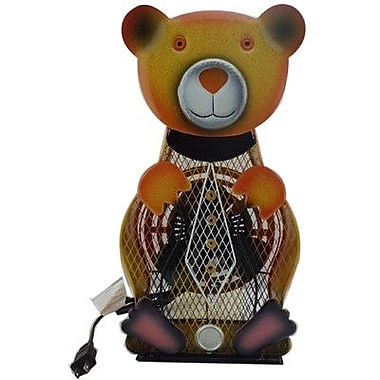 WBM LLC Himalayan Breeze Large Decorative Bear Fan