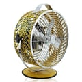 WBM LLC Himalayan Breeze Decor Leopard Fan