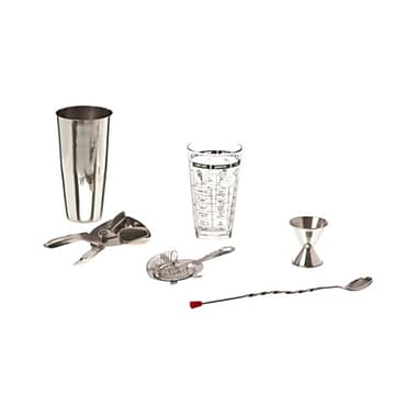 American Metalcraft PH202 Stainless Steel Home Bar Set