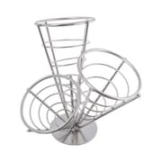 American Metalcraft 3 Cone Stainless Steel Conical Basket