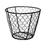 American Metalcraft WIR2 Steel Chix Wire Basket, Black