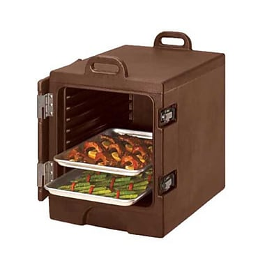 Cambro 1318MTC-131, Front-Load Sheet Pan & Tray Carrier - Camcarrier, Dark Brown