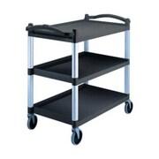 Cambro BC340KD-110 Plastic Utility Cart, Black