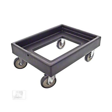 Cambro CD300-110, Plastic Camdolly - for Catering Equipment, Black