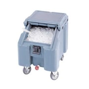 Cambro ICS100L-401, 100 lb Ice Caddy - SlidingLid, Slate Blue