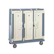 Cambro MDC1418T30-401, 30-Shelf Polyethylene Meal Delivery Cart, Slate Blue