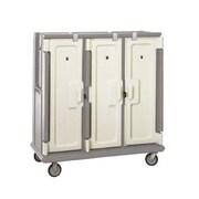 Cambro MDC1520T30-180, 30-Shelf Polyethylene Meal Delivery Cart, Gray