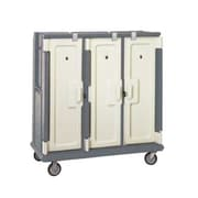 Cambro MDC1520T30-191, 30-Shelf Polyethylene Meal Delivery Cart, Granite Gray