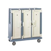 Cambro MDC1520T30-401, 30-Shelf Polyethylene Meal Delivery Cart, Slate Blue