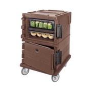 Cambro UPC1200-131, Front-Load Food Pan Hold & Transport Cart - Ultra Camcart, Dark Brown