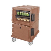 Cambro UPC1200-194, Front-Load Food Pan Hold & Transport Cart - Ultra Camcart, Granite Sand