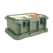 Cambro UPC160-192, Top-Load Food Pan Carrier - Ultra Pan Carrier, Granite Green