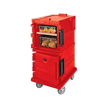 Cambro UPC600-158, Front-Load Food Pan Hold & Transport Cart - Ultra Camcart, Hot Red