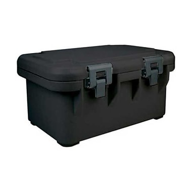 Cambro UPCS180-110, Top-Load Food Pan Carrier - Ultra Pan S-Series, Black