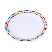 Carlisle 9'' Narrow Rim Dinner Plates - Durus Designer Collection, Spanish Tile