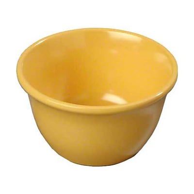 Carlisle 7 oz Bouillon Cups - Durus Collection, Honey Yellow 448288