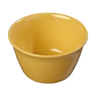 Carlisle 8 oz Bouillon Cups - Dallas Ware Collection, Honey Yellow 448166