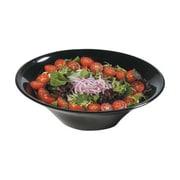 Carlisle 12'' Melamine Salad/Serving Bowls, Black