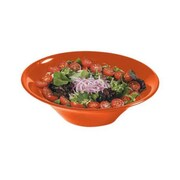 Carlisle 12'' Melamine Salad/Serving Bowls, Red