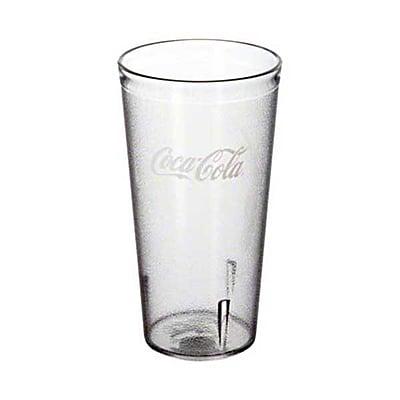 Carlisle 52203550A, 20 oz Stackable Coca-Cola Tumbler 432782