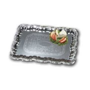 Carlisle 21'' Celebration Rectangular Trays with Ornate Borders