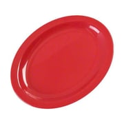 Carlisle 12'' x 8-31/32''Kingline™ Oval Platter, Red