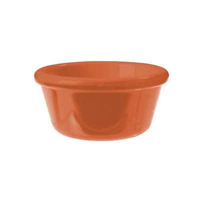 Carlisle 4 oz Smooth Ramekin, Sunset Orange 452520