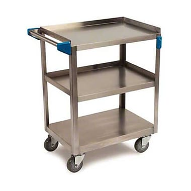 Carlisle UC3031827, 18'' Stainless Steel Utility Cart