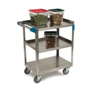 Carlisle UC5031827, 18'' Stainless Steel Utility Cart