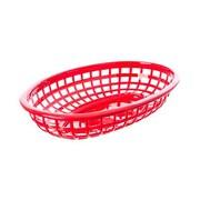 TableCraft 1074R 1.88 x 9.38 x 6 Baskets, Red