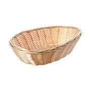Tablecraft 9'' Oval Natural Handmade Baskets