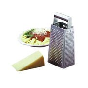 Tablecraft SG202, 4'' x 3'' Box-Type Tapered Grater w/ Rolled Handle