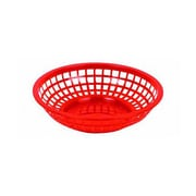 Thunder Group 8'' Round Basket, Red