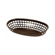 Thunder Group 9-3/8'' Oblong Basket, Brown