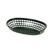 Thunder Group 9-3/8'' Oblong Basket, Black
