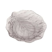 Thunder Group PLLV009C, 9'' Acrylic Leaf Plate, Clear