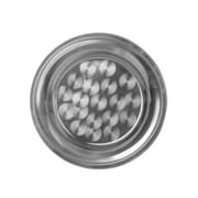 Thunder Group 16'' Stainless Steel Round Tray