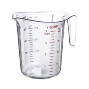 Update International 1 Quart Plastic Measuring Cup