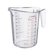 Update International 2 Quart Plastic Measuring Cup