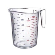 Update International 1/2 Cup Plastic Measuring Cup