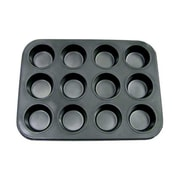 Update International 12-Cup Non-Stick Carbon Steel Muffin Pan