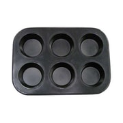 Update International 6-Cup Non-Stick Carbon Steel Muffin Pan