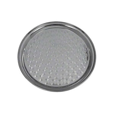 Update International 12'' Stainless Steel Round Serving Tray