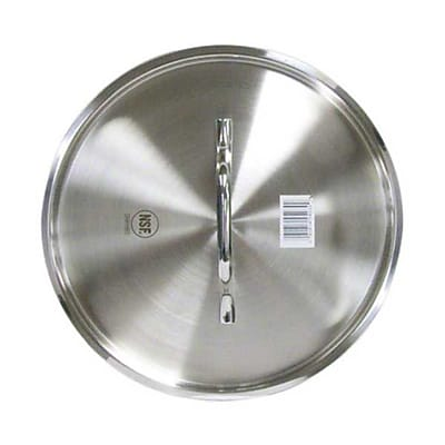 """""""Vollrath 3915C 15.75″"""" Stainless Steel Cover"""""""