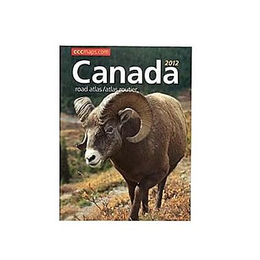 CCC Extensive Coverage 2012 Canada Road Atlas