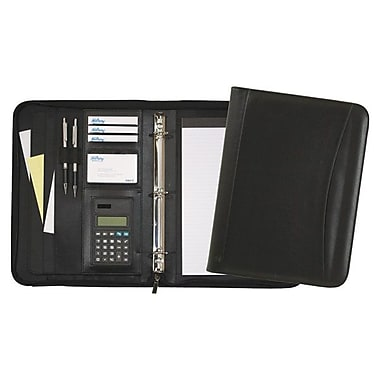 Hilroy Executive Double-Booster Ring Binder, Black