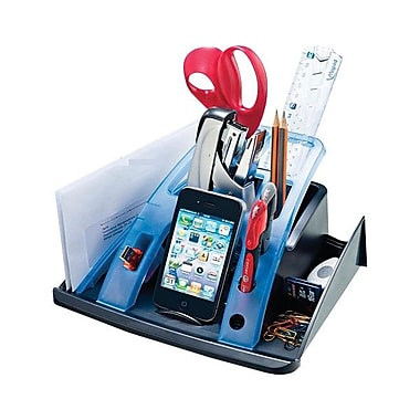 Maped® USA 21st Century Desk Organizer, Grey
