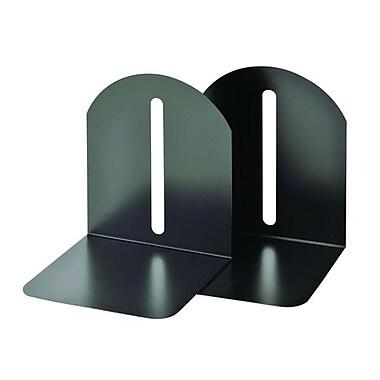 MMFMC – Appuis-livres stylés SteelMasterMD de 7 po, paq./2, noir granite