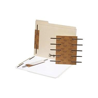 SmeadMD – Attaches en métal autocollantes, 2 po, 100/paquet, brun