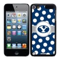 Coveroo Brigham Young Polka Dots Thinshield Case For iPod Touch 5G, Black